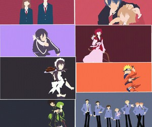 code geass, kaichou wa maid-sama, and noragami image
