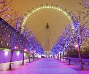 london, christmas, and light image