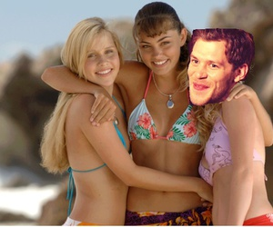 klaus, rebekah, and H2o image
