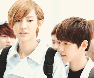 chanyeol, baekhyun, and exo image