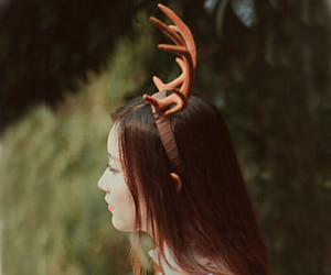antlers, deer, and japanese fashion image