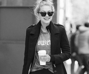 black and white, casual, and fashion image