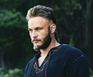 vikings, travis fimmel, and ragnar lothbrok image