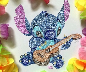 drawing, stitch, and art image