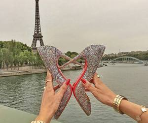 paris, shoes, and louboutin image