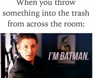 batman, dean winchester, and funny image