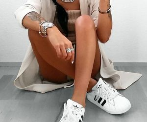 adidas, beauty, and girl image