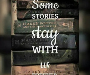 book, harry potter, and forever image
