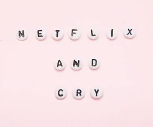 netflix, cry, and love image