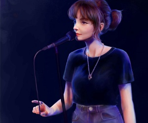 art, lauren mayberry, and chvrches image