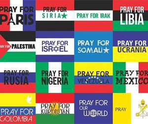 pray, world, and peace image