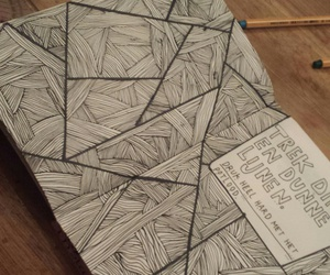drawing, dutch, and journal image