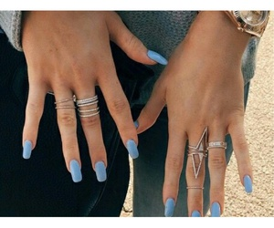 nails, fashion, and kylie jenner image