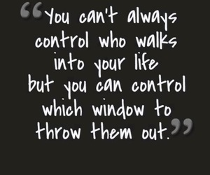 quote, life, and control image