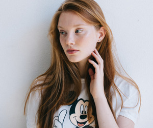 beauty, casual, and girl image