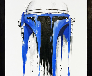 star wars and jango fett image