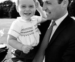 prince william, prince george, and royal image