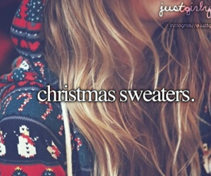 christmas, sweater, and winter image