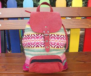 backpack, bohemian, and boho image