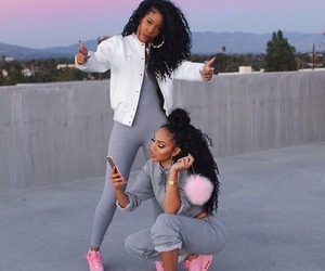pink, goals, and friends image
