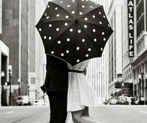 love, kiss, and black image