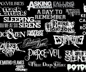 bands, pierce the veil, and sleeping with sirens image