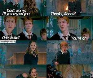 harry potter, order of the phoenix, and ron weasley image