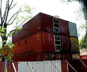 cargo container homes, shipping containers homes, and cargo box for suv image