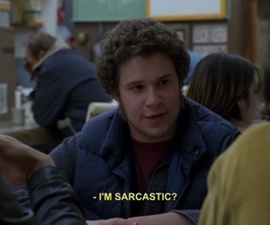 freaks and geeks, funny, and sarcasm image