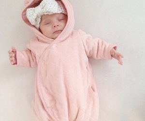 baby, mini, and outfit image