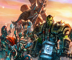 game, warlords of draenor, and wow image