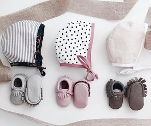 baby, clothes, and hats image