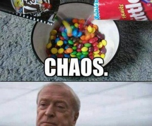 chaos, funny, and skittles image