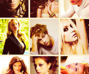 ed westwick, michelle trachtenberg, and gg image
