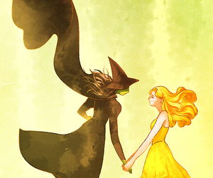 defying gravity, wicked, and friendship image