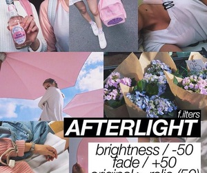 filter and afterlight image
