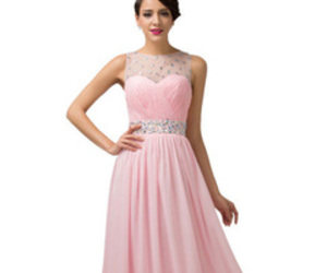 lace dress, prom dress, and a line image