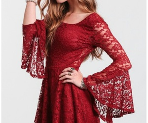 lace and red image