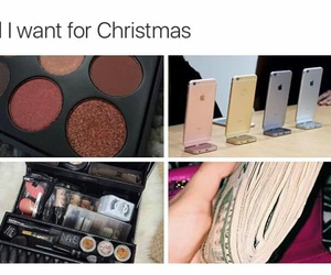 christmas, money, and iphone image