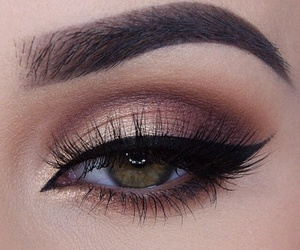 amazing, chic, and eye makeup image