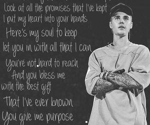 feelings, justin, and purpose image