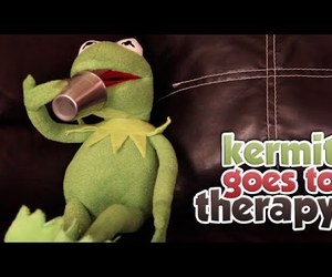 comedy, kermit the frog, and funny image