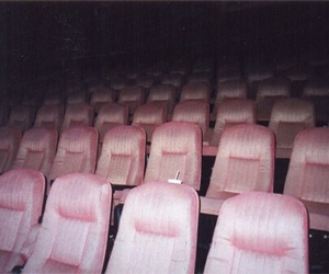 pink, cinema, and grunge image