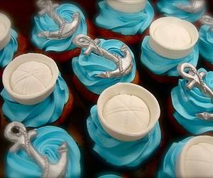 cupcake, anchor, and sailor image