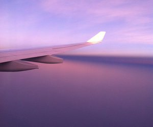hipster, skies, and travel image