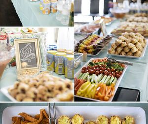 food, party, and idea image