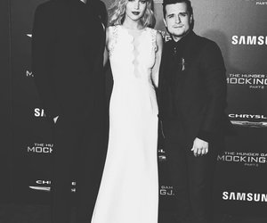 black and white, Jennifer Lawrence, and premiere image