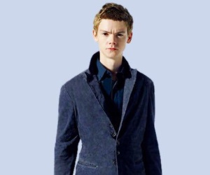 thomas sangster, actor, and the maze runner image