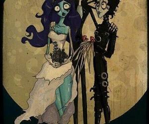 tim burton, corpse bride, and edward scissorhands image