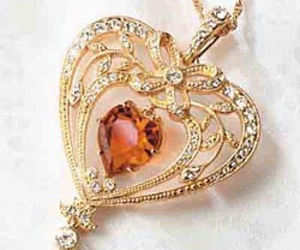 beautiful, heart, and jewel image